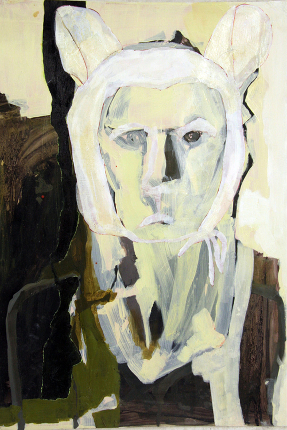 Little Lion Man   oil on paper / 80 x 60 cm
