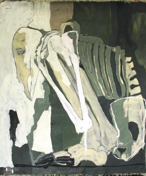 Metamorphosis   oil on linen / 100 x 80 cm