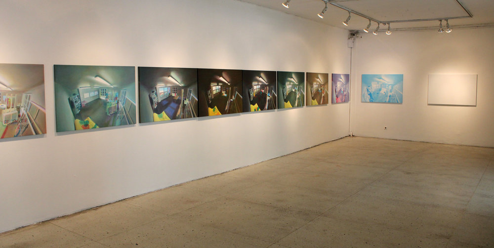 "Exhibition views at ""Constructor"" at Kunstihoone Gallery. Photos: Mart Vainre, 2012."