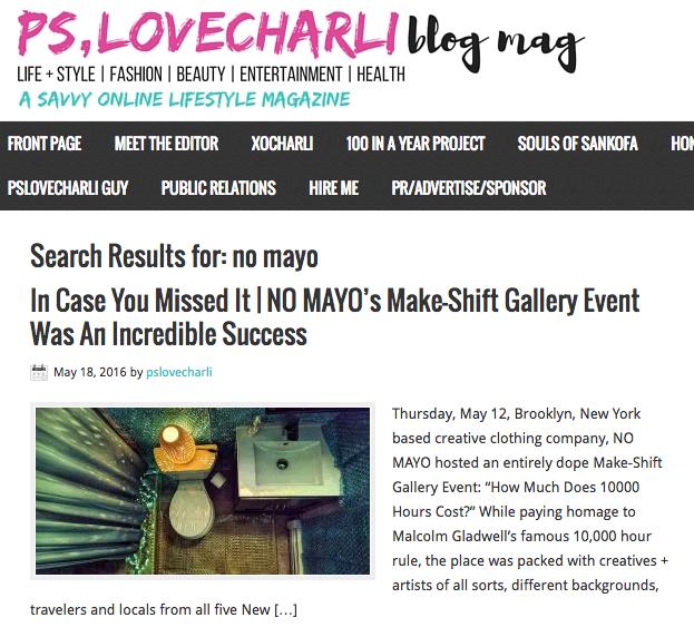 PS, Love Charli Blog Mag /// spring 2016