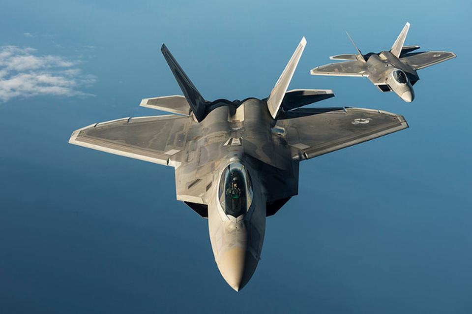 The Obama administration's premature termination of F-22 fighter production began the unraveling of an elegant Air Force plan for preserving global air dominance through mid-century (U.S. Air Force photo by Tech. Sgt. Jason Robertson/Released)