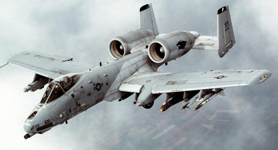 The Air Force has been fretting for years that the A-10 Thunderbolt II close air support plane (named after a World War II fighter-bomber) may no longer be survivable in contested air space, but the A-10 looks invincible compared with its concept for a low cost, light attack plane. -Wikimedia