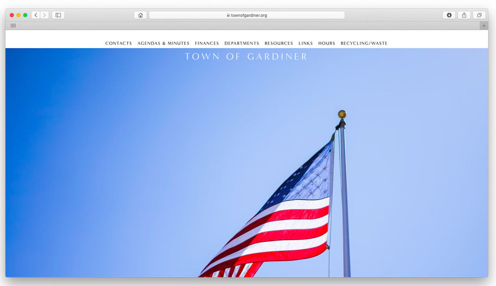 Town of Gardiner.  The famed town in the foothills of the Shawangunks. Content organization and website design.  www.townofgardiner.org