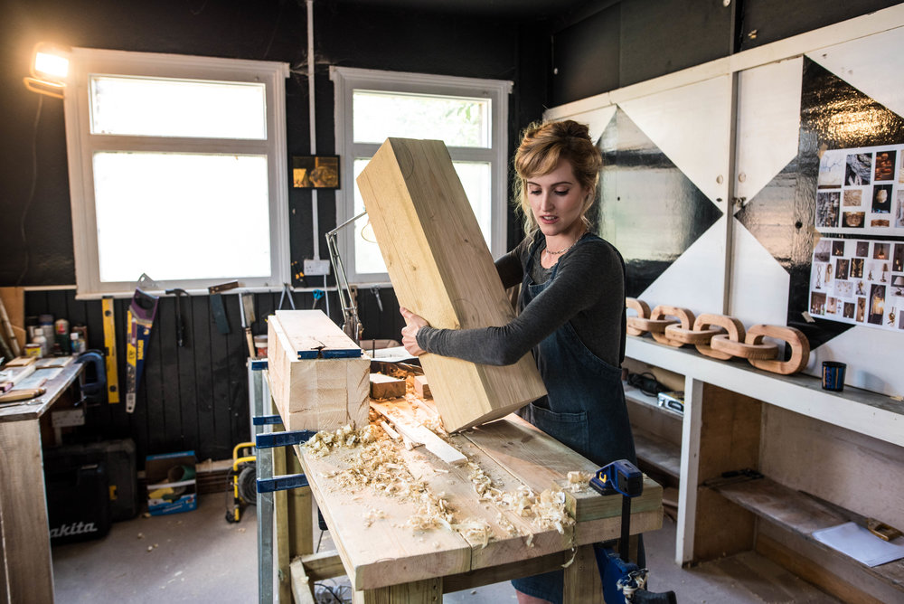 Anastasya Martynova - London-based, multidisciplinary artist specialising in wood carving and gilding.