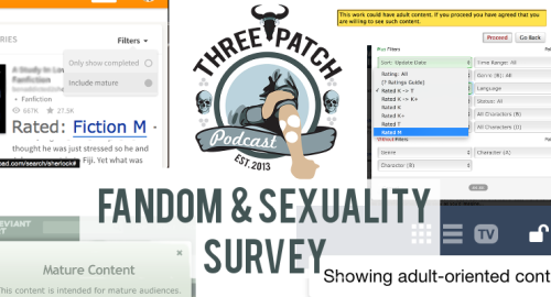 A banner advertising the Three Patch survey.