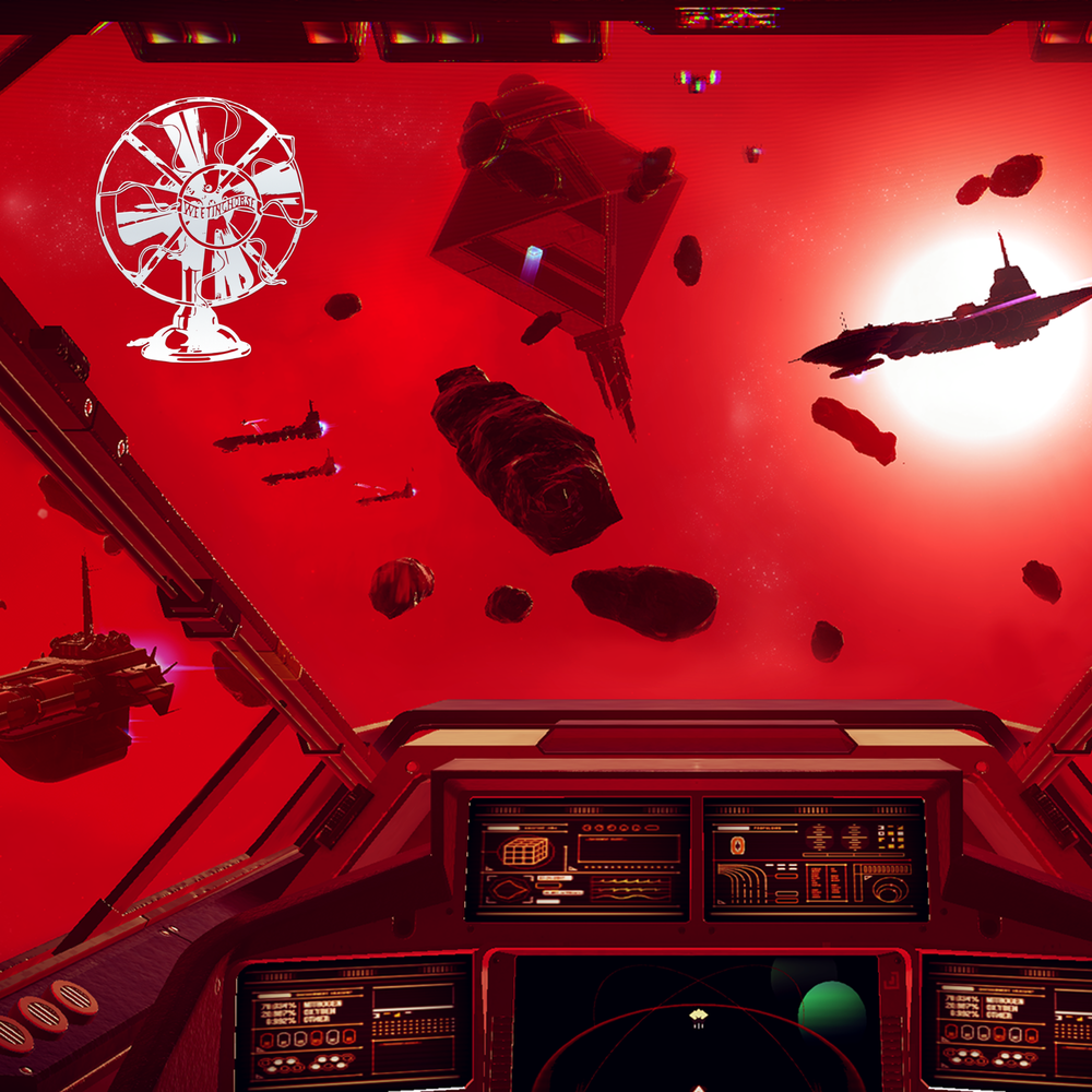 Episode 30's cover: a screenshot from a video game about spaceships.