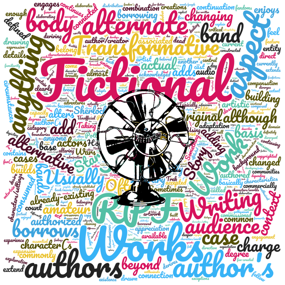 Episode 49's cover: a word cloud of words from the survey.