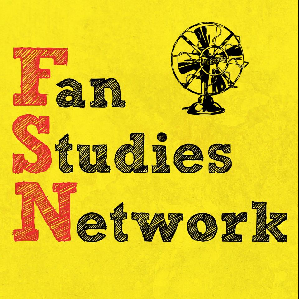 Episode 78's cover: the Fan Studies Network logo.