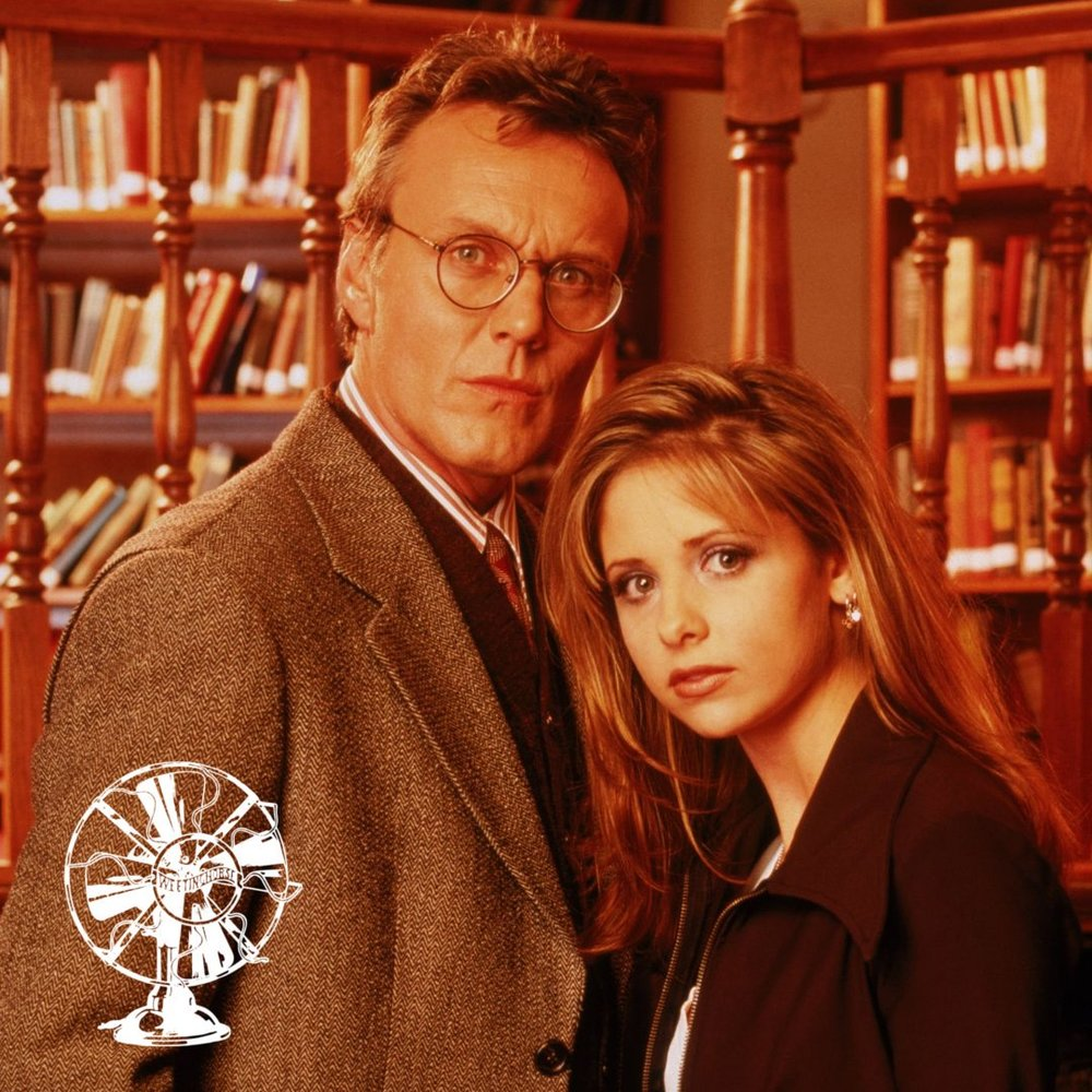 Special Episode 4's cover: Giles and Buffy.