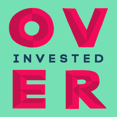 The Overinvested logo.