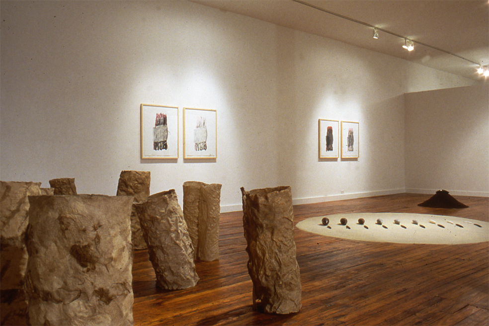 Sculpture Exhibit: The Gilgamesh Epic, Jessica Berwind Gallery 1993