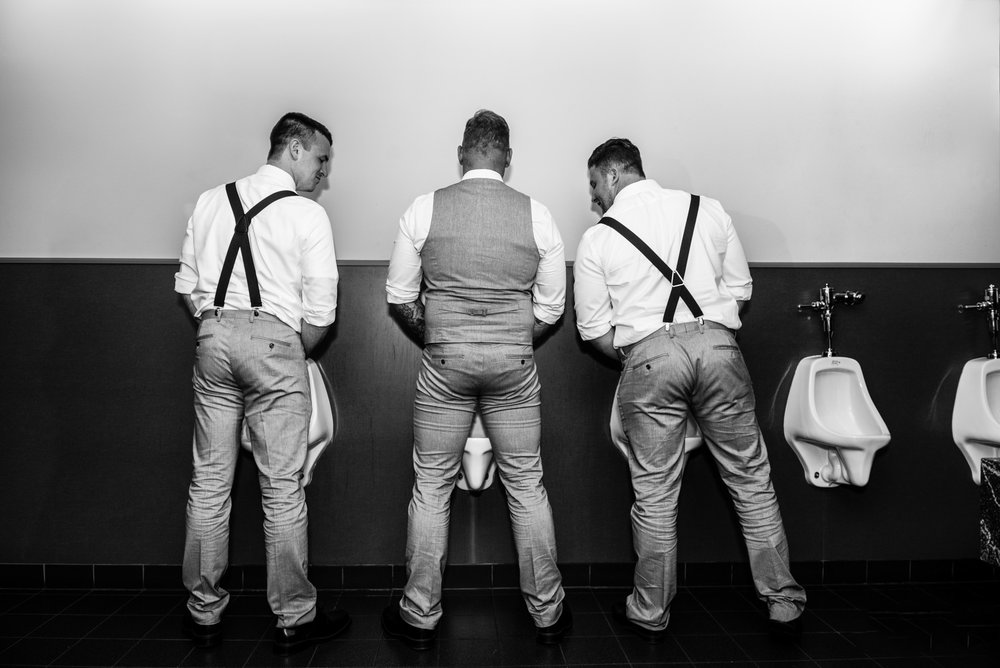 "Sometimes the Groom is the real ""Bestman"""