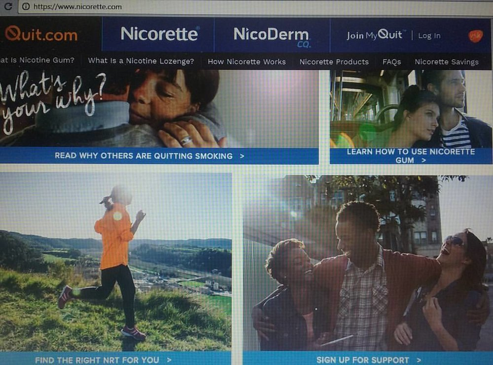 - PRINT: NICORETTE.COM