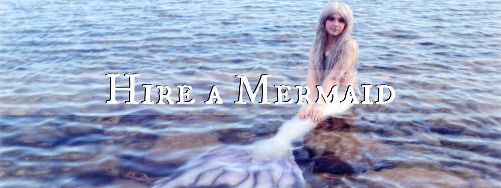 Hire a mermaid. Hire The Magic Crafter's Mermaid Phantom for mermading, consultations, and more. All of her services are outlined here.