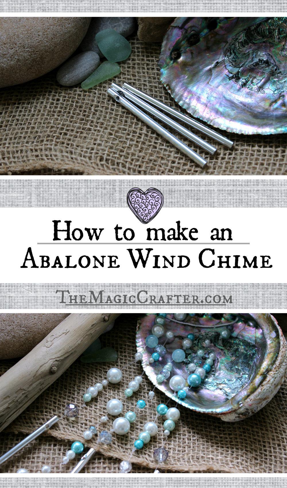 aea0afac65ad9 How to Make an Abalone Wind Chime - DIY Mermaid Beach Home Decor ...