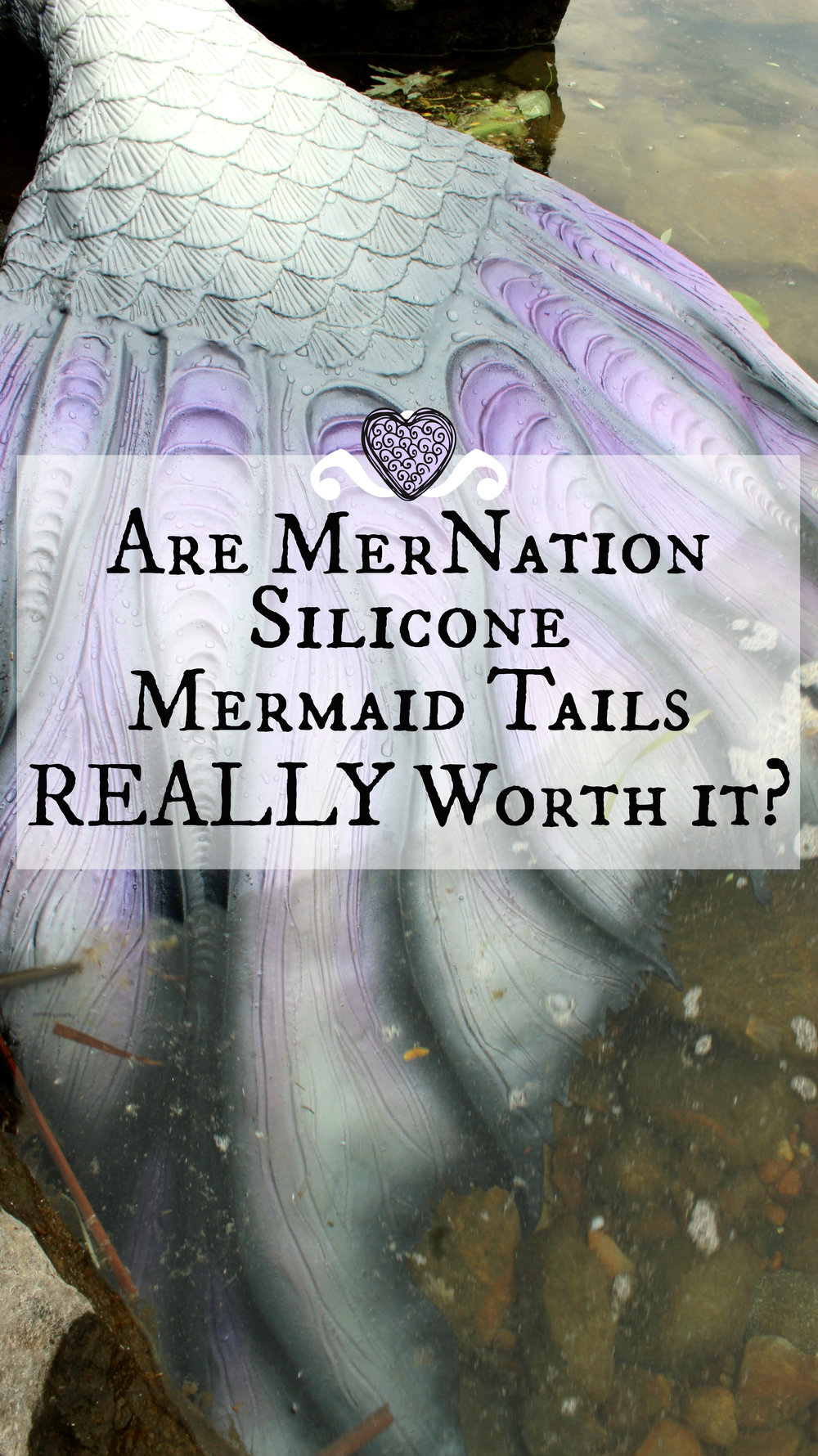 Are MerNation Silicone mermaid tails really worth it? Should you buy a realistic tail from MerNation Inc? Read the full review here! My tail for professional mermaiding is over a year old, and I have a thing or two to say about it!
