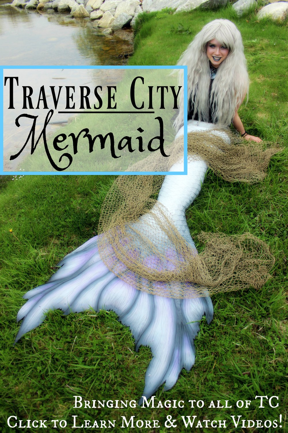 Mermaids in Traverse City, Michigan!?! Mermaid Phantom has proudly been serving Traverse City and Leelanau County as their first and only Professional Mermaid since 2016! She has working in tanks, in Lake Michigan, in swimming pools and on dry land for years as an entertainer. Whether you have a special mermaid birthday party planned for your child, or a high-end event planned for your company, Mermaid Phantom is guaranteed to bring smiles and mermaid magic to your big celebration. Making magical moments that turn into lasting memories is what she's all about! ♥  Email Phantom@TheMagicCrafter.com today to get started. ♥