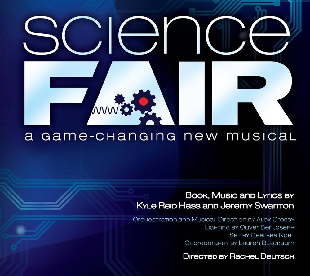 Science Fair  - - July 27th - August 4th 2017 - Rachel is making her Off-Broadway directing debut with Science Fair: A Game Changing New Musical. Book, music and Lyrics by Kyle Reid Hass and Jeremy Swanton. You can find out more information at broadwayworld.com here!