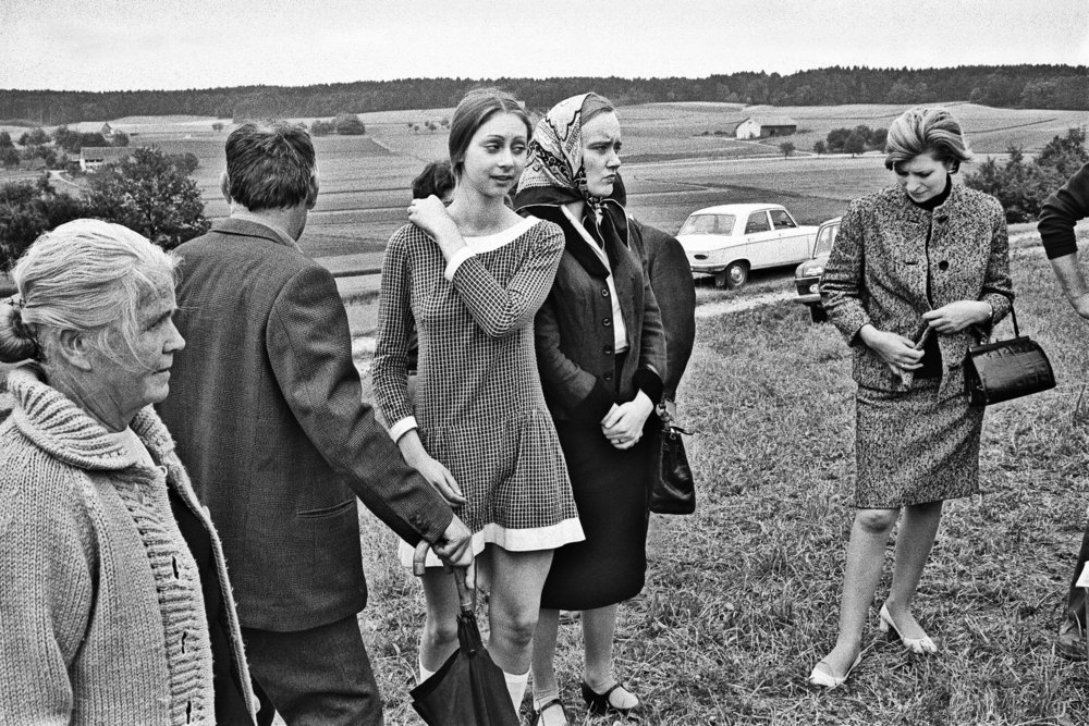 Das Gerücht - Feldgang nach Sonntagspredigt, Rümlang-Zürich, 1973