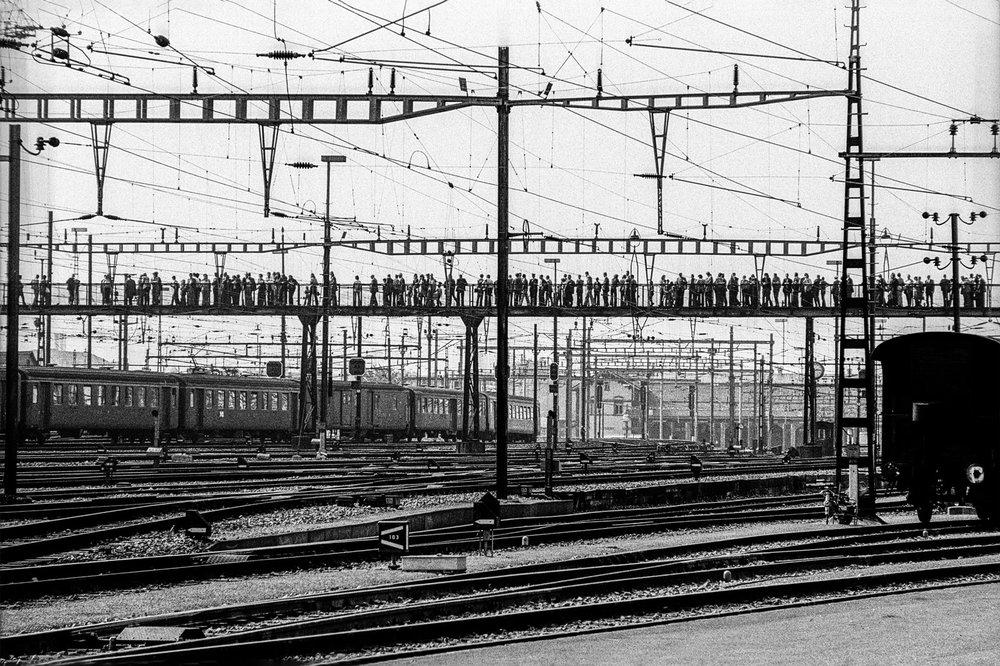Hauptbahnhof SBB, Tag der offenen Türe, 8001 Zürich 1975