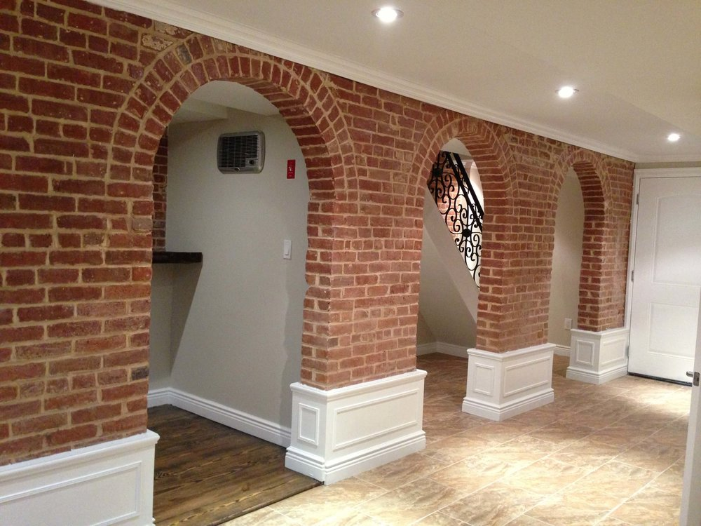 Historic Brick Archways