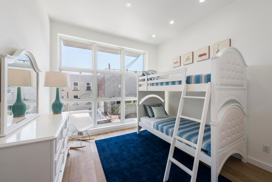 Family Bedroom in Grand Street Duplex Apartment
