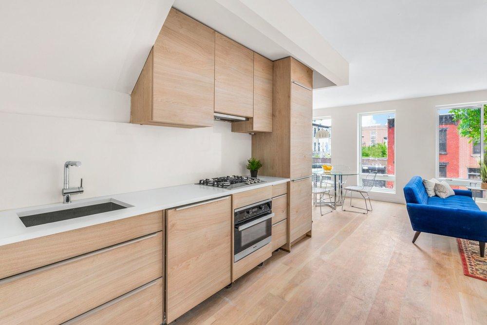 Spacious Living Area in luxury condo