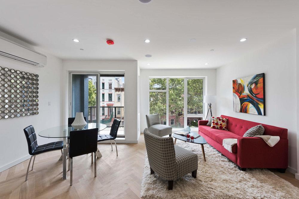 Living Room Design of new Luxury Condo Unit