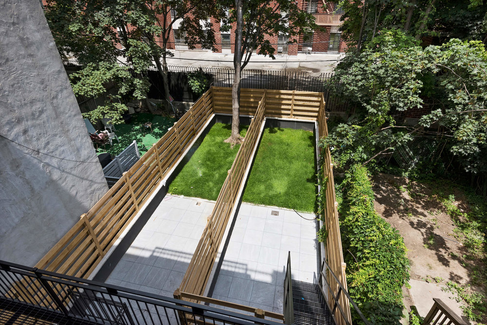 Outdoor Space on Gorgeous Quincy Street Property
