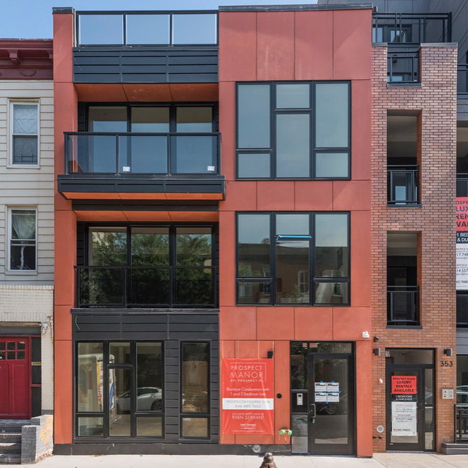 Luxury Apartment Building Facade