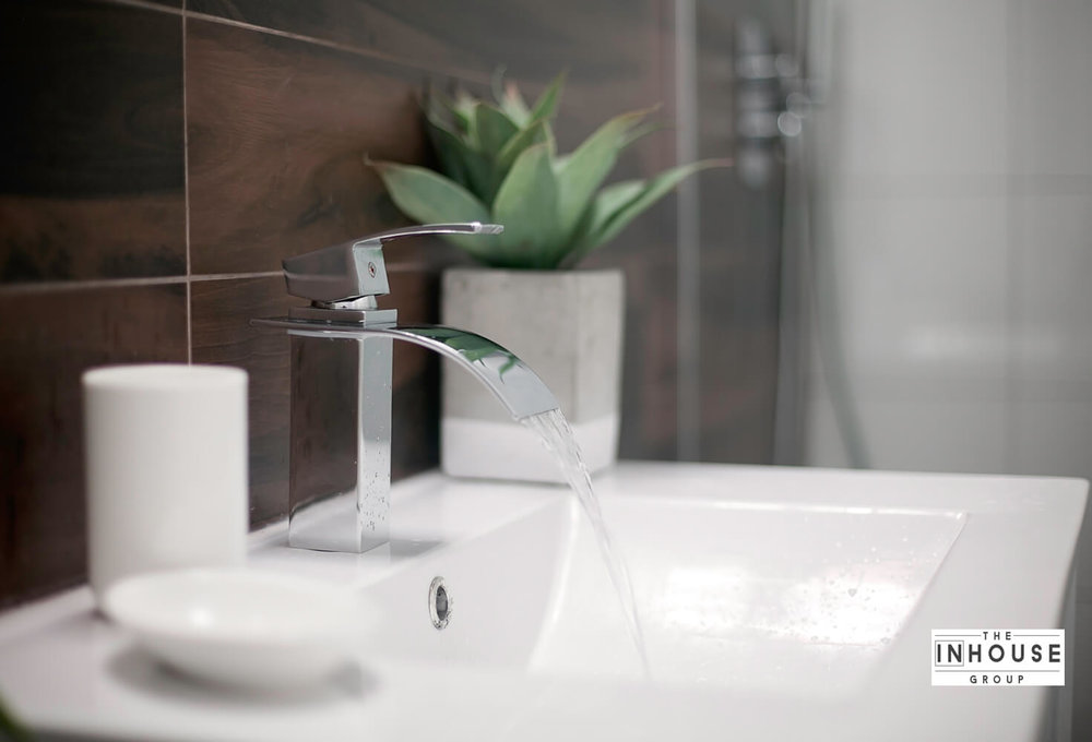 Spotless Sink in Luxury Apartment
