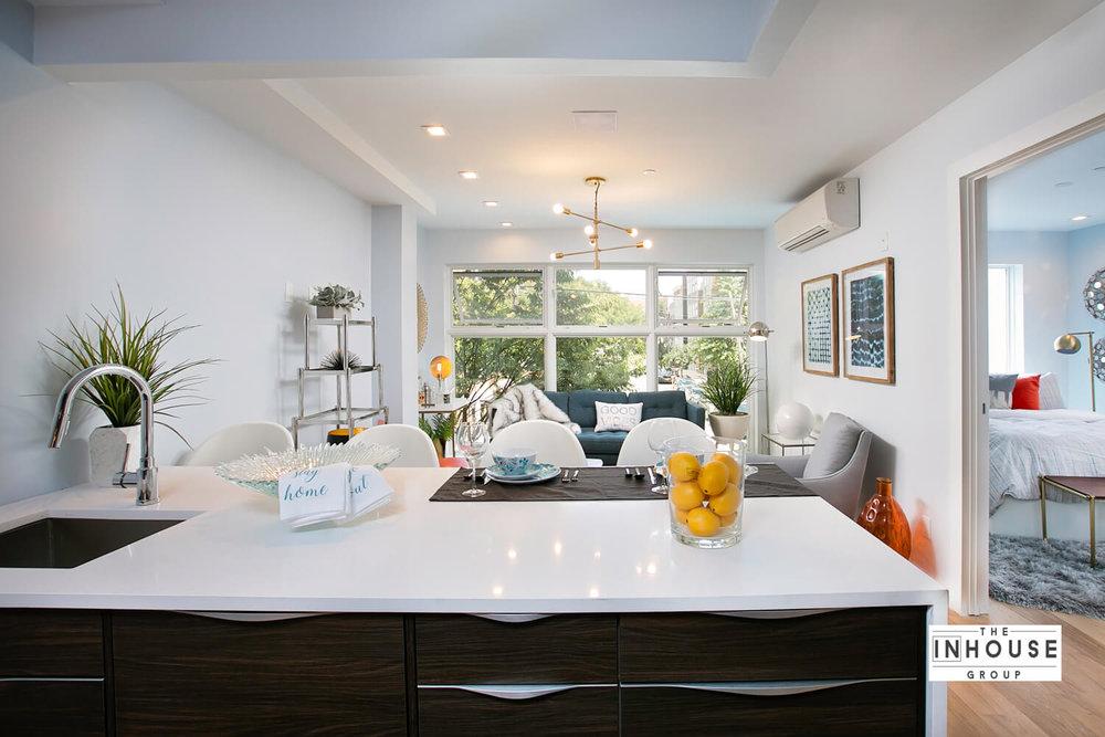Full luxury living room view