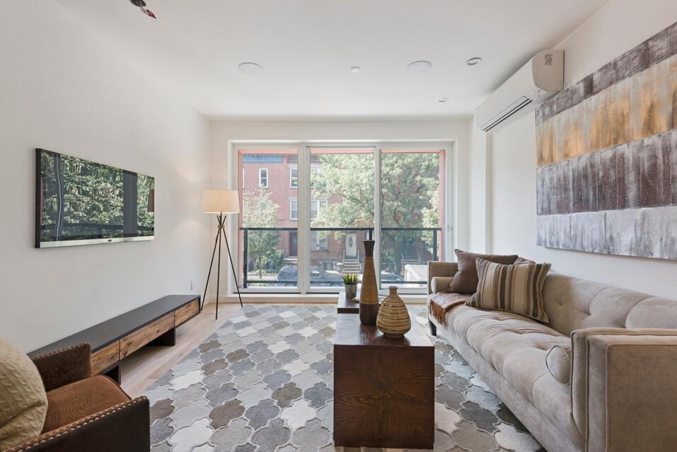 Full View of Living Room Design