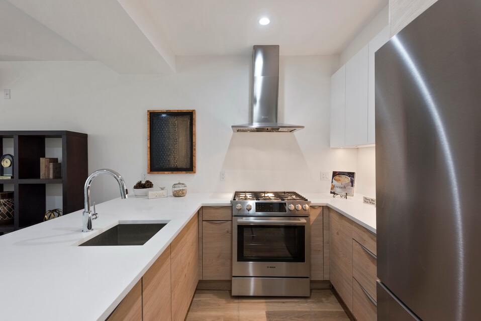 Dream Kitchen in Luxury Brooklyn Apartment