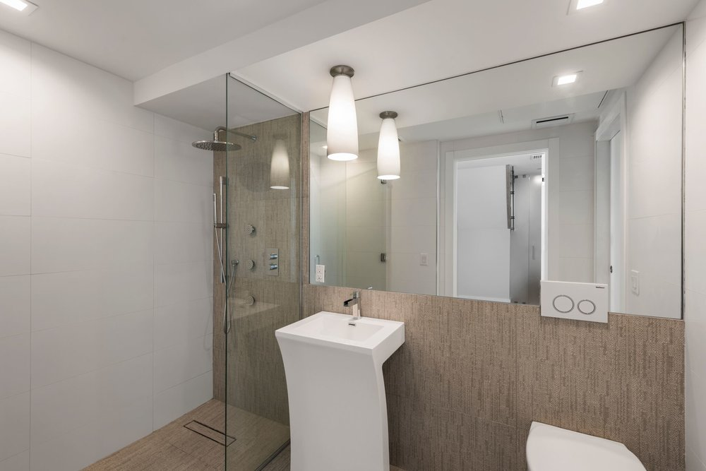 Second of Three Bathrooms in Luxury Apartment