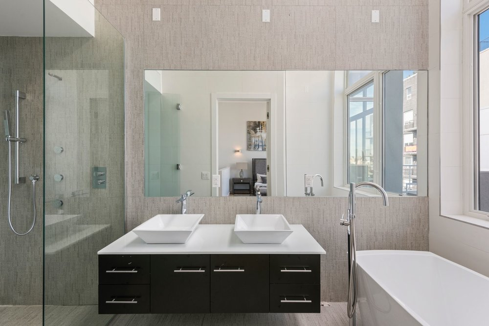 Master Bathroom with a Touch of Elegance