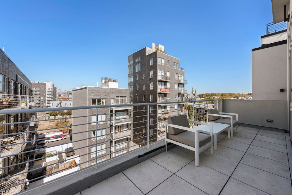 Rooftop Access with Views of Brooklyn