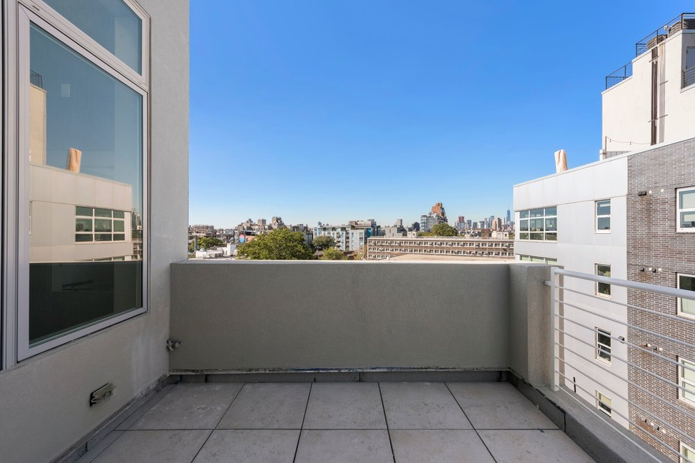 Your Own Private Balcony with Views of NYC