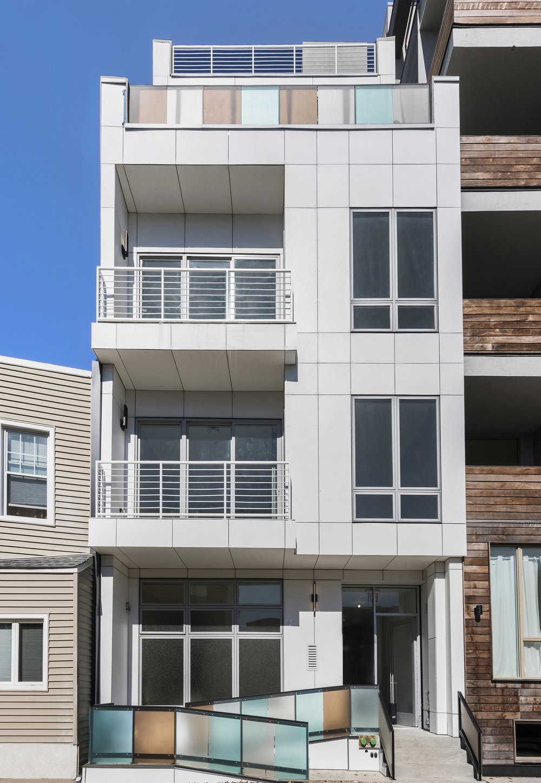 Exterior View of Bayard Street Condos