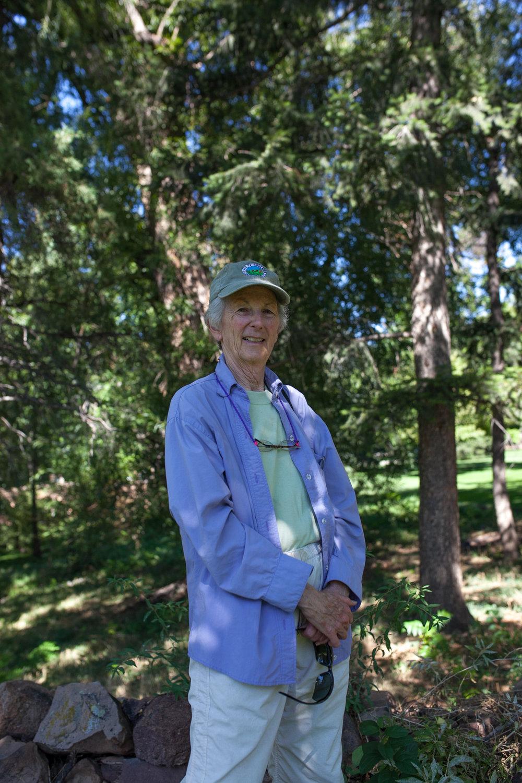 Sue is a bearsitter through Boulder OSMP