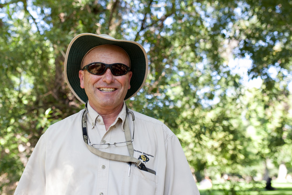 Scott is CU's Pest Specialist and a bearsitter through Boulder OSMP