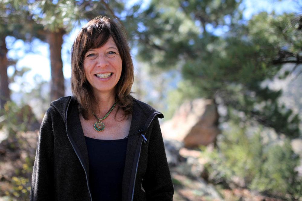 Brenda Lee, founder of the volunteer-led Boulder Bear Coalition