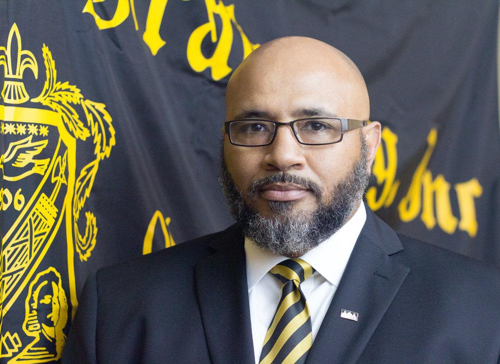 Bro. Kianga Thomas, President