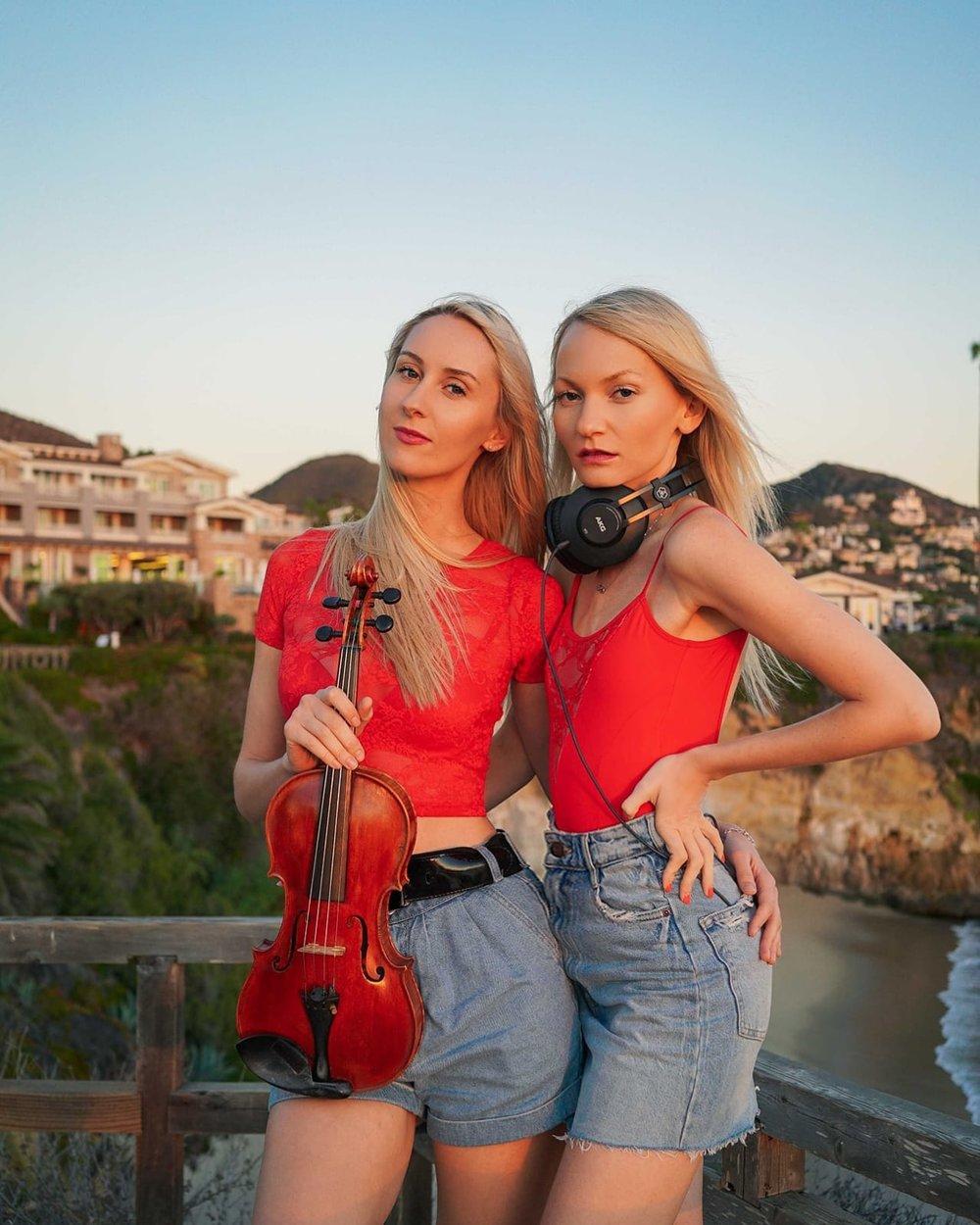 Dj Violin Duo Electric Reflection -