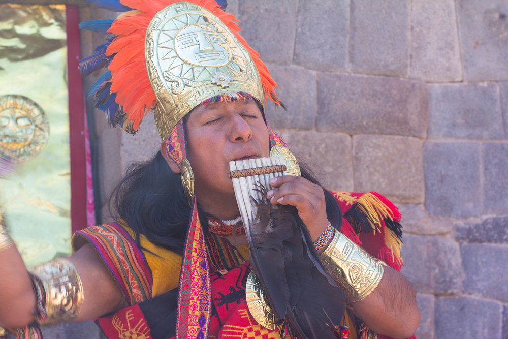 This is not a Shaman,but he is dressed similarly to how a Shaman might dress.