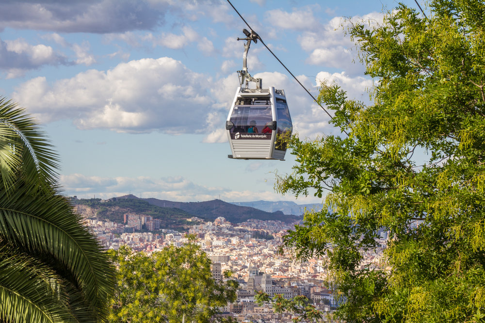 A unique transportation experience could be a fun activity, this one comes with beautiful view! Bonus points because you don't have to walk up a huge hill, too.
