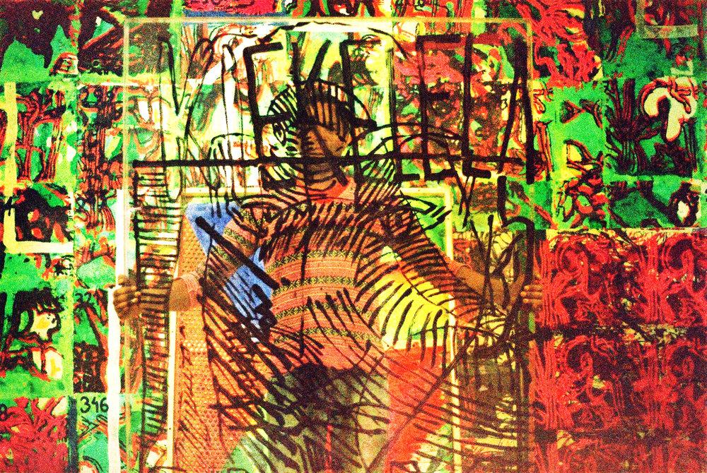 """ABR 2017: Kiekelela por Francisco Vidal para exposição """"Territórios: Utopia Luanda Machine"""".   APR 2017: Kiekelela by Francisco Vidal for the exhibition """"Territórios: Utopia Luanda Machine"""".    photo: Lucca Miranda"""