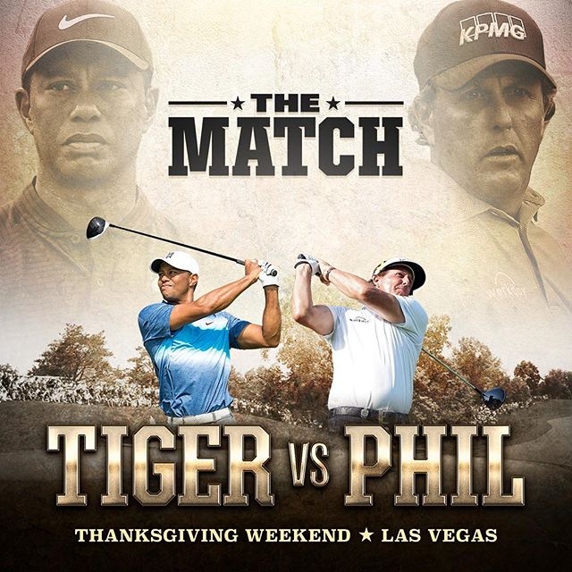 "WarnerMedia secures worldwide media rights to ""The Match"" a historic head-to-head, 18-hole duel between #TigerWoods vs. #PhilMickelson.  Thanksgiving weekend should be fun. #TigerVSPhil"