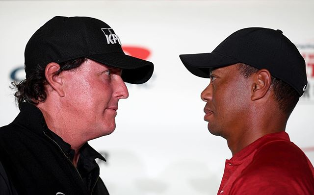 It's what we've all been waiting for. Today is the day! Capital One's The Match: Tiger vs. Phil 3pm/et available via @brlive and PPV. #TheMatch
