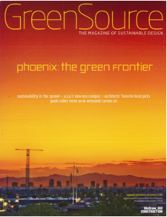 GREENSOURCE: 01/2010